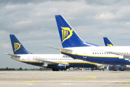 Ryanair says the strike has not affected flights across Scotland
