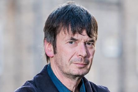 Author Ian Rankin. Picture: Ian Georgeson