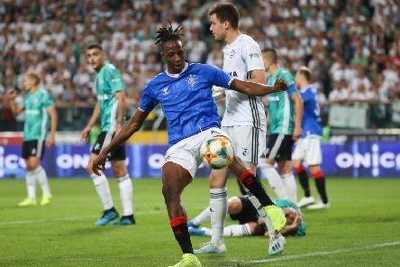 Joe Aribo boots away the ball after play is whistled dead. Picture: PressFocus/Shutterstock