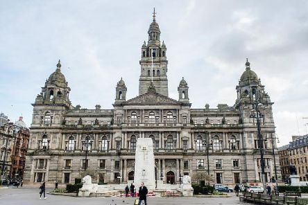 Glasgow City Council. Picture: John Devlin