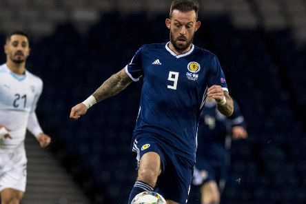 Steven Fletcher is considering his Scotland future. Picture: SNS
