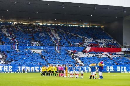 Rangers were found guilty by Uefa of sectarian chanting during the match against St Joseph's last month. Picture: SNS