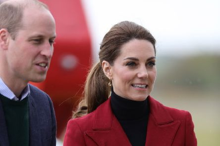 The Duke and Duchess of Cambridge were praised for taking an economy flight. Picture: PA
