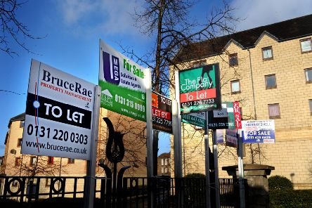 A shortage of available properties and spiralling deposit costs have been blamed for the fall in the number of Scots moving house. Picture: TSPL