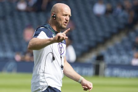 Scotland coach Gregor Townsend is relishing the historic trip to Georgia. Picture: Ian Rutherford/PA Wire
