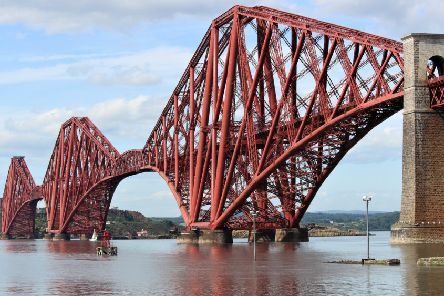The Forth Bridge is an icon of Scotland