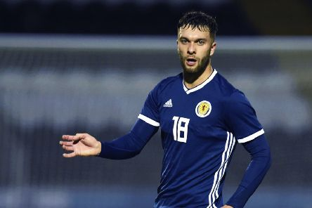 Connor McLennan hit a late double for Scotland Under-21s. Picture: Rob Casey/SNS Group/SFA)