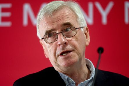 Shadow chancellor John McDonnell. Picture: Kirsty O'Connor/PA Wire