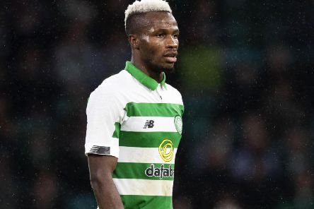 Celtic's 'Boli Bolingoli is eyeing a run in the Europa League. Picture: SNS