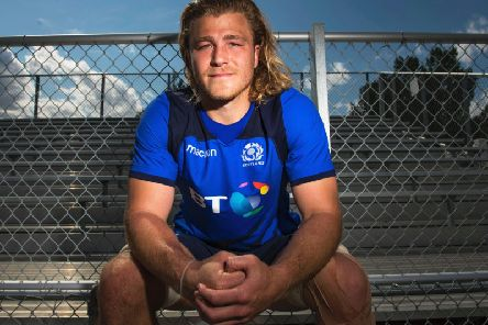David Denton has retired from rugby. Picture: SNS