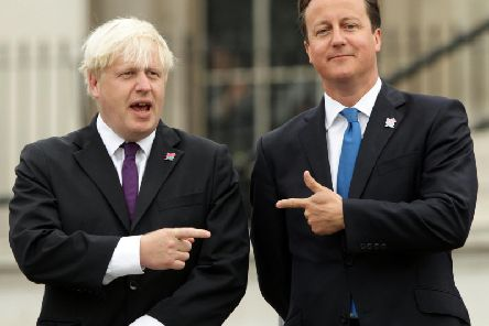 Mr Cameron said Boris Johnson 'didn't believe' in Brexit and only backed the Leave campaign to further his career.