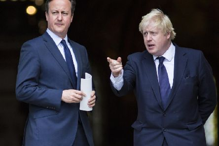 Mr Cameron claims Mr Johnson believed Brexit would be 'crushed like a toad under the harrow' before he joined the Vote Leave team