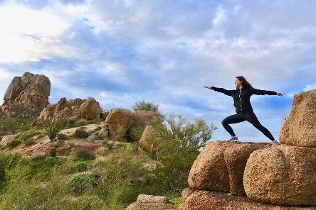Tai chi before breakfast and outdoor yoga are among the activities on offer at Four Seasons Resort, Troon, Scottsdale. Picture: Lisa Young