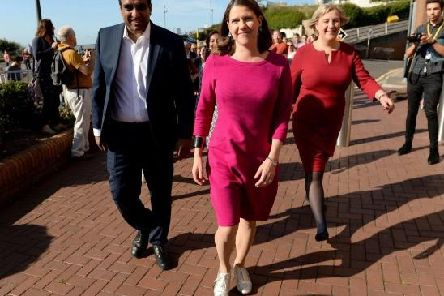 Liberal Democrat leader Jo Swinson at her party's conference Bournemouth