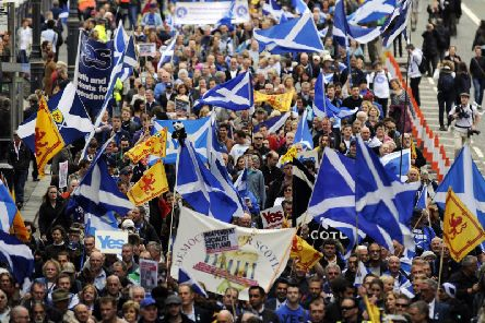 The last independence referendum was five years ago.