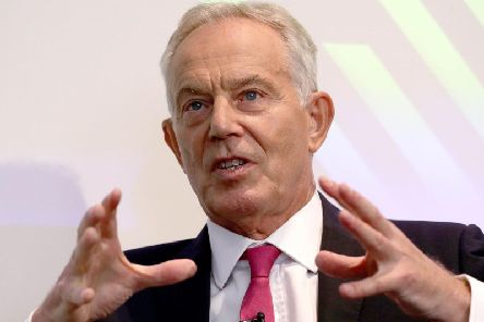 Former Labour Prime Minister Tony Blair. Picture: PA