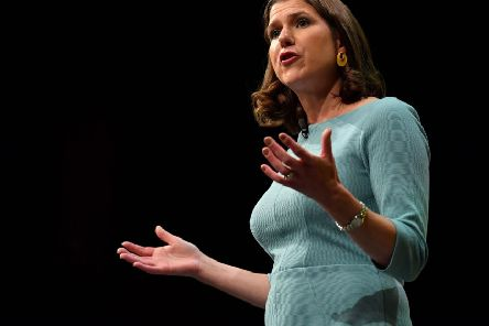 Liberal Democrat leader Jo Swinson's speech to her party's conference inspired Jim Duffy (Picture: Ben Stansall/AFP/Getty Images)