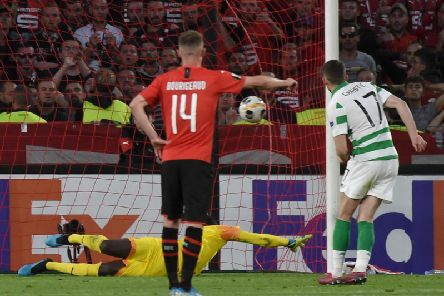 Ryan Christie converts his second-half penalty.