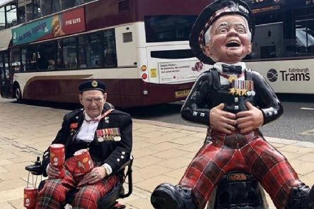 The Oor Wullie statue of Tom Gilzean went for 13,000 at auction