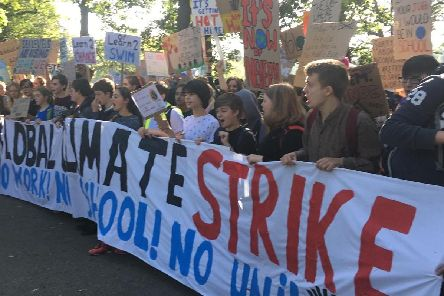 Thousands of Edinburgh residents and school pupils are set to march through the city on Friday to demand action on climate change.