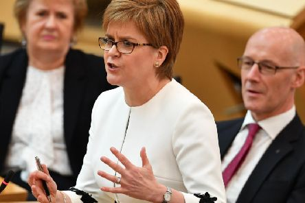 Nicola Sturgeon is not going to call an independence referendum that she knows she would lose (Picture: Jeff J Mitchell/Getty Images)