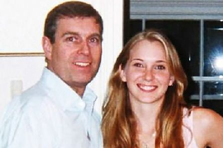 Prince Andrew and Virginia Giuffre. Picture: Shutterstock