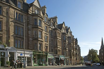 Eateries in Edinburgh's Bruntsfield are recommended. Picture: Neil Hanna