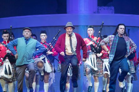 Still Game stars have begun their final farewell at the Hydro. Picture: Contributed