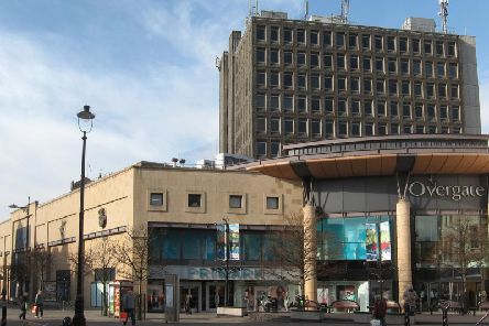 Overgate Shopping Centre where the alleged assault took place