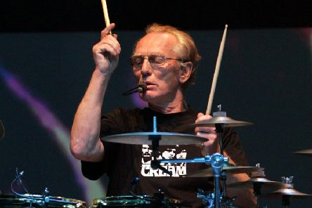 Ginger Baker was a co-founder of Cream. Picture: AFP