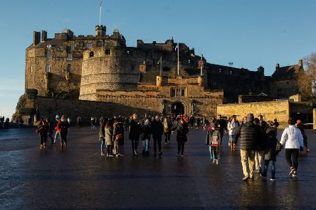 A visit to Edinburgh Castle makes for a great day out. Picture: Scott Louden