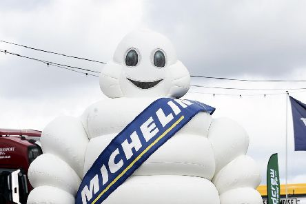 French tyre manufacturer Michelin is also famous for its restaurant guide (Picture: Lisa Ferguson)