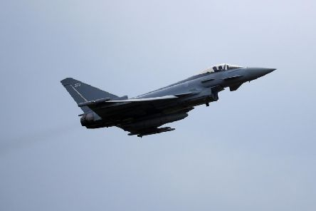 An RAF Typhoon. Picture: PA/File