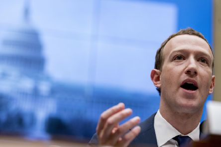 Mark Zuckerberg has faced criticism about Facebook's policies on free speech and fake news (Picture: Andrew Harnik/AP, file)