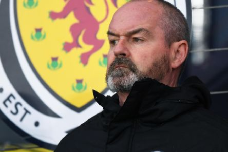 Scotland manager Steve Clarke watches on during the 6-0 win over San Marino. Picture: Craig Williamson/SNS
