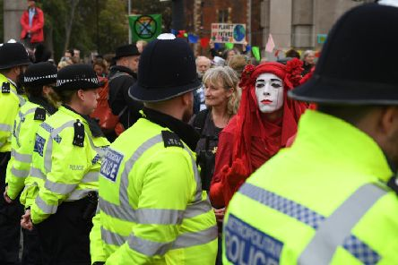 The Met Police face growing criticism in the wake of the ban. Picture: Getty Images