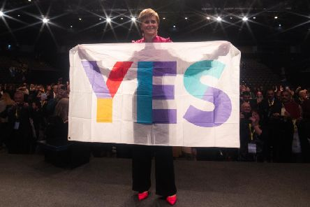 Ms Sturgeon branded the union unsustainable over the chaos of Brexit.