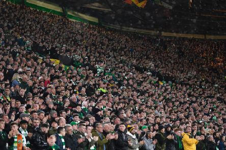 Celtic fans may be unable to attend the match in Rome. Picture: SNS