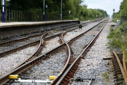 Birtish Transport Police was called to an area of railway between Dundee and Broughty Ferry following a report of a body. Picture: PA