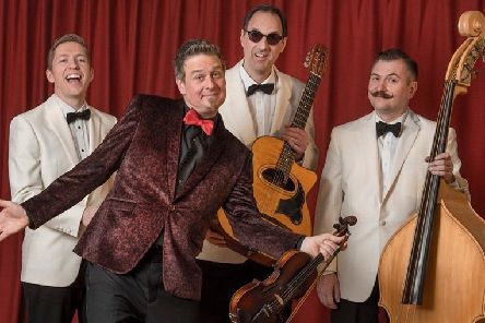 Viper Swing are coming to town.
