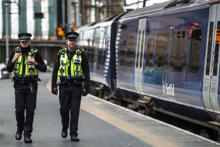 British Transport Police have attended 1,438 incidents in Scotland involving violent behaviour towards railway staff since 2014/15. Picture: John Devlin