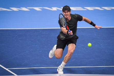 Andy Murray roared into his first ATP Final since March 2017