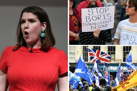 Jo Swinson said it is a lesson she has learned throughout the process of Britain's decision to leave the European Union, which was made in June 2016. Picture: PA