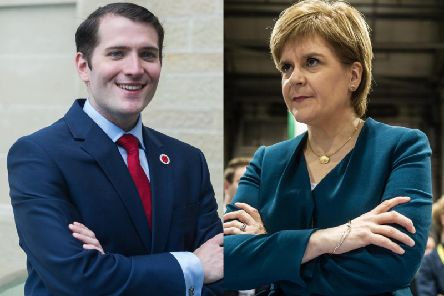 """The Labour MP has now responded to these claims, saying: We won't be holding our breath for an apology for Nicola Sturgeon's scurrilous and malicious rumour-mongering."""" Pictures: John Devlin"""