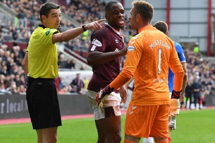 Uch Ikpeazu had a word of warning for Rangers ahead of Betfred Cup clash. Picture: SNS