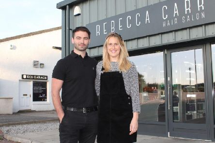 James and Rebecca Carr have made a six-figure investment in Kintore. Picture: Contributed