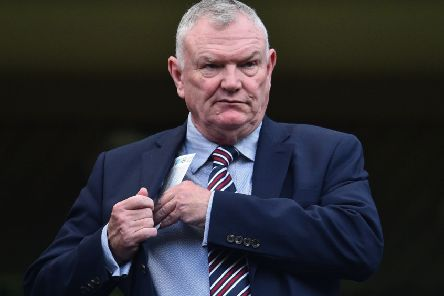 FA chairman Greg Clarke is lobbying Fifa and Uefa.  Picture: Glyn Kirk/AFP/Getty Images