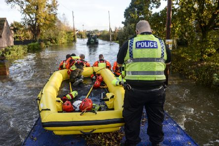 Around half the 700 residents of Fishlake, near Doncaster, left the village as the River Don burst its banks last week.
