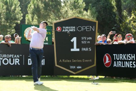 Bob MacIntyre has climbed 10 spots to 73rd in the world rankings after a top-10 finish in the Turkish Airlines Open. Picture: Getty.