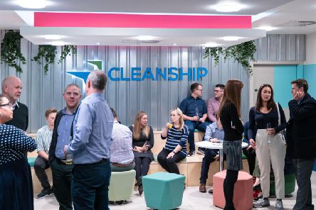 Cleanship has grown from six to more than 50 staff in the past two years. Picture: Contributed